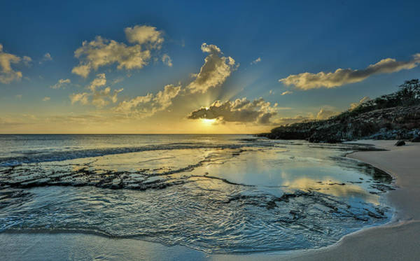 Wall Art - Photograph - A Tidal Shelf On Kawakiu Nui Beach by Richard A Cooke Iii.