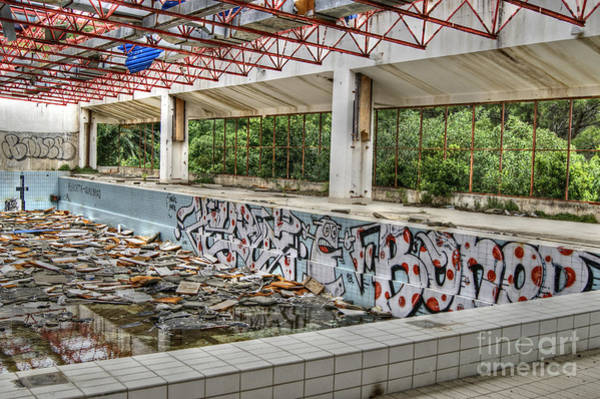 Photograph - Abandoned Places 17 by David Birchall