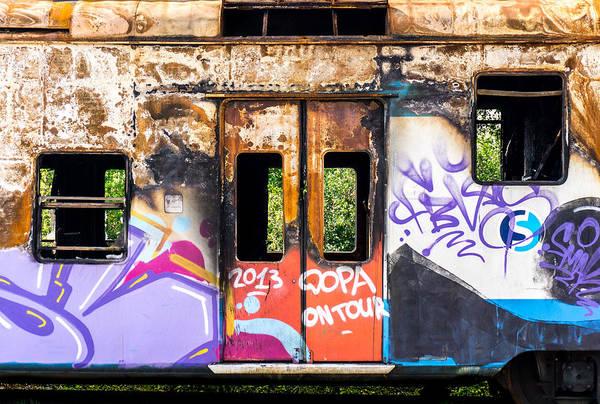 Junkyard Photograph - Abandoned Rail Car 1 by Jim Hughes