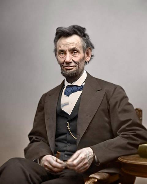 Abe Lincoln President Art Print