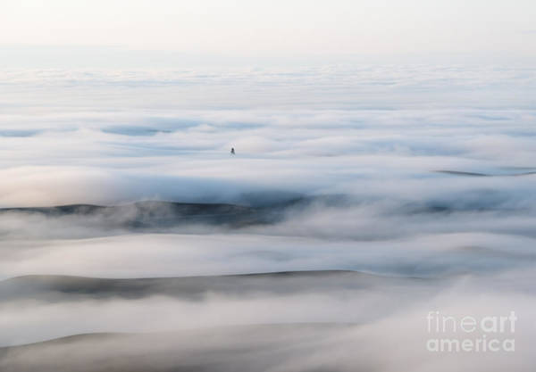 Palouse Photograph - Above The Clouds by Mike  Dawson