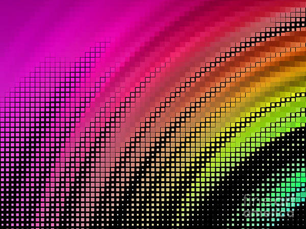 Digital Illustration Digital Art - Abstract Background, Vector Without by Gala