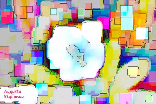 Digital Art - Abstract Flower by Augusta Stylianou