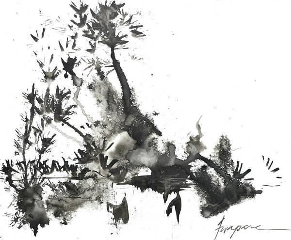 Painting - Abstract Ink Art by Patricia Awapara