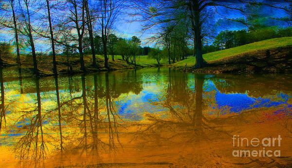 Wall Art - Photograph - Abstract Reflections  by Jinx Farmer