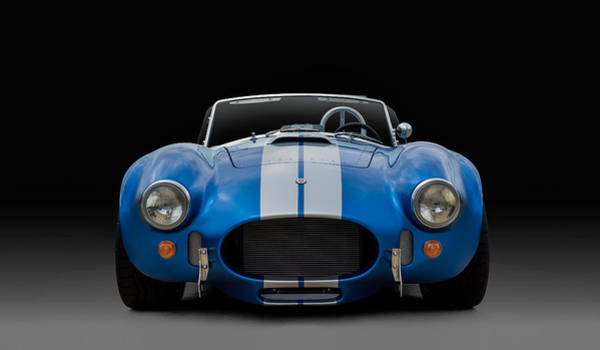 Roadster Wall Art - Digital Art - Ac Cobra by Douglas Pittman