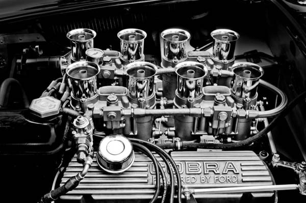 Photograph - Ac Shelby Cobra Engine by Jill Reger