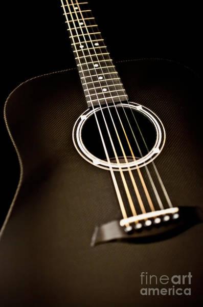 Fret Board Photograph - Acoustic Guitar Artistic by Jani Bryson