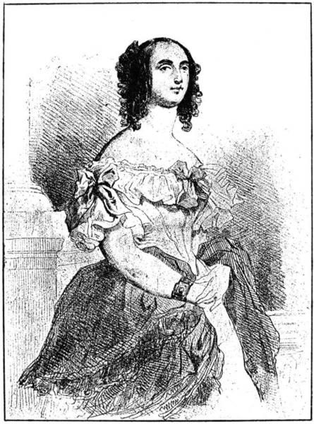 Adele Painting - Adele Foucher Hugo (1804-1868) by Granger