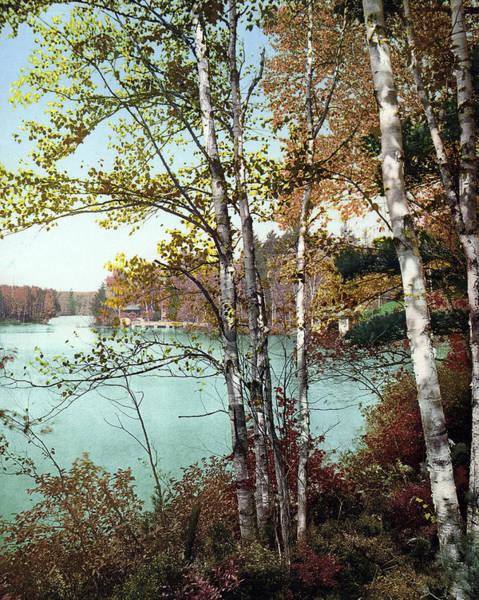 Adirondack Mountains Painting - Adirondacks, C1903 by Granger