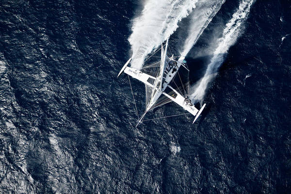 Wall Art - Photograph - Aerial Photo Shoot Of Lhydroptere Dcns by Christophe Launay