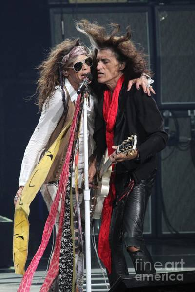 Steven Tyler Photograph - Aerosmith by Concert Photos