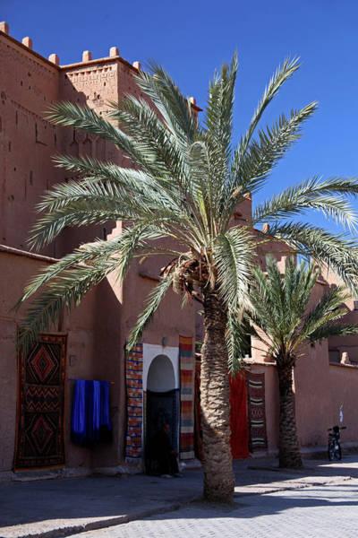 Berber Wall Art - Photograph - Africa, Morocco, Ouarzazate by Kymri Wilt