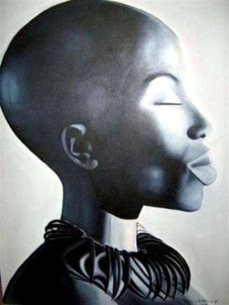 Painting - African Elegance - Original Artwork by Tracey Armstrong