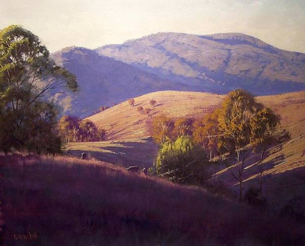 Australia Painting - Afternoon Shadows by Graham Gercken
