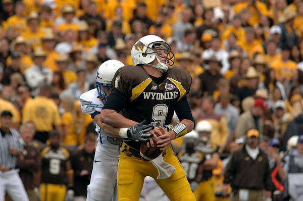 Laramie Photograph - Air Force Versus Wyoming by Mountain Dreams