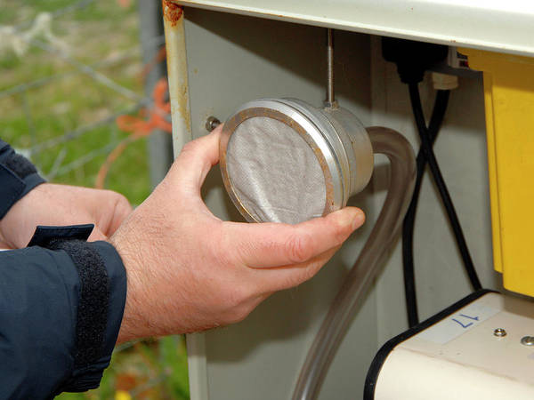 Handling Photograph - Air Quality Monitoring by Public Health England