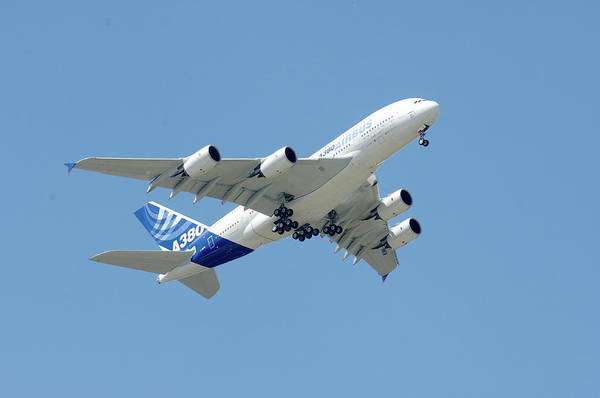 Airbus A380 Wall Art - Photograph - Airbus A380 by Science Photo Library