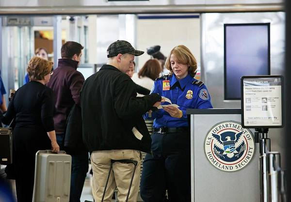 Metro Detroit Photograph - Airport Security Check by Jim West