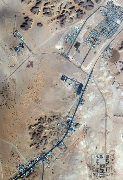Wall Art - Photograph - Al Sulayyil Missile Base by Geoeye/science Photo Library