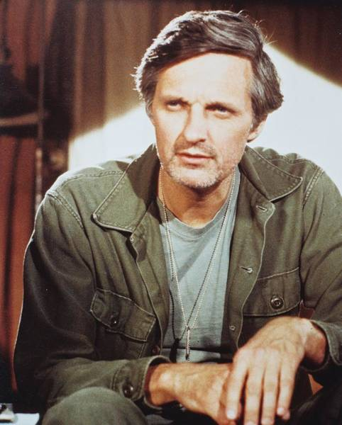 Alan Photograph - Alan Alda In M*a*s*h  by Silver Screen