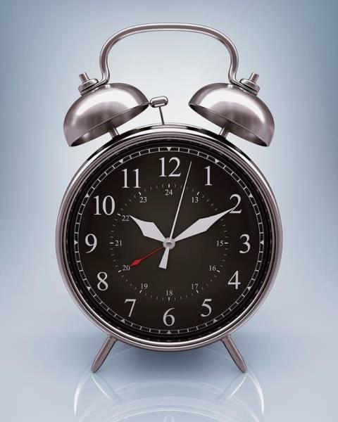 Alarm Clock Photograph - Alarm Clock by Ktsdesign/science Photo Library