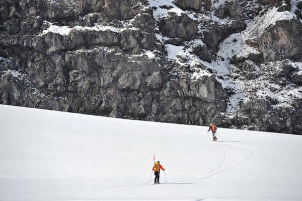 Wall Art - Photograph - Alaska Ski Mountaineering by HagePhoto