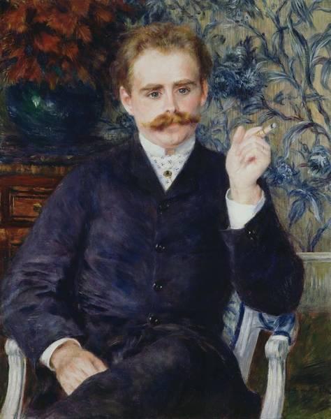 Painting - Albert Cahen D Anvers by Pierre Auguste Renoir