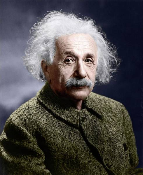 Wall Art - Photograph - Albert Einstein by Library Of Congress