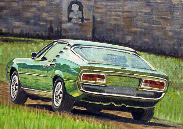 Alfa Romeo Painting - Alfa Romeo Montreal by Ildus Galimzyanov
