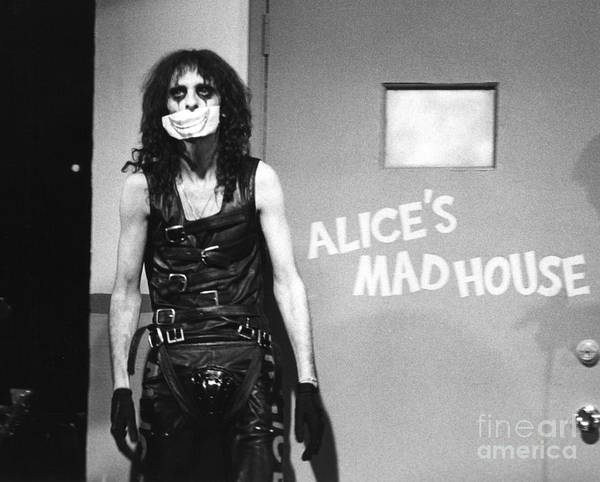 Alice Cooper Photograph - Alice Cooper 1979 by Chris Walter