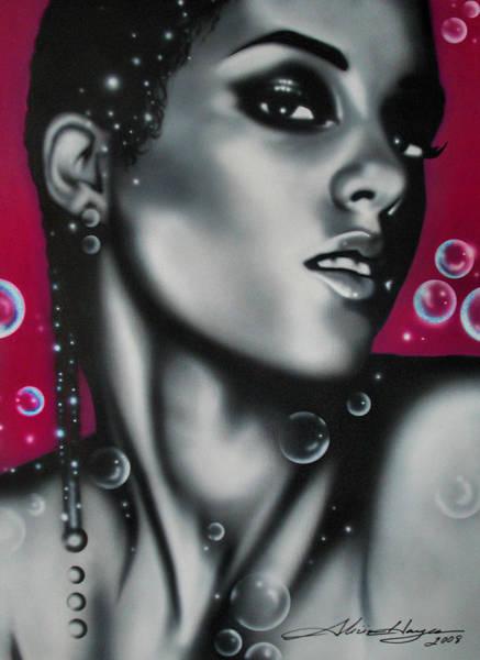 Wall Art - Painting - Alicia Keys by Alicia Hayes