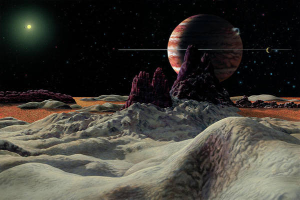 Wall Art - Photograph - Alien Planets by Lynette Cook/science Photo Library