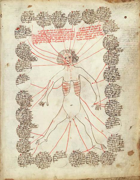 Encyclopedia Wall Art - Photograph - Allegorical Medical Man by Library Of Congress