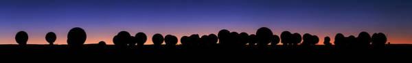 Wall Art - Photograph - Alma Radio Telescopes At Sunset by Babak Tafreshi