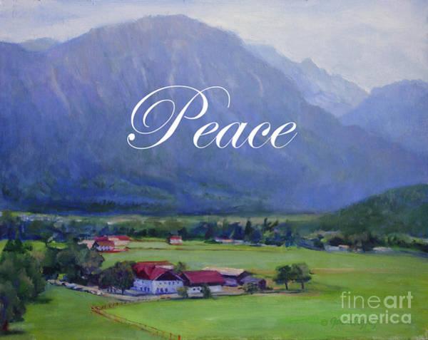 Painting - Alpine Treasure by Joan Coffey