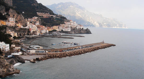 Photograph - Amalfi Italy by Bill Cannon