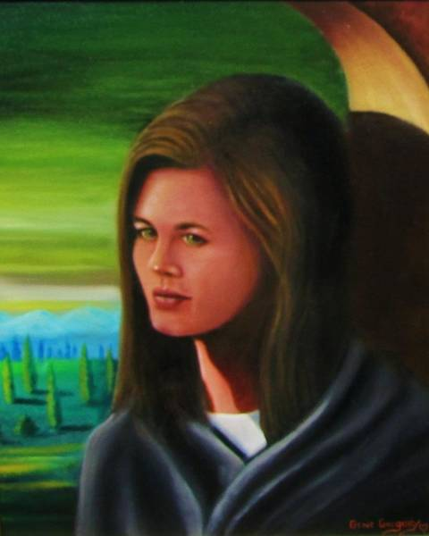 Painting - Amanda by Gene Gregory