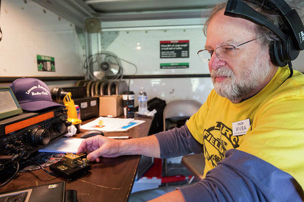 Livonia Photograph - Amateur Radio Operator by Jim West