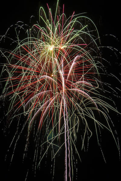 Fireworks Display Wall Art - Photograph - Amazing Fireworks by Garry Gay
