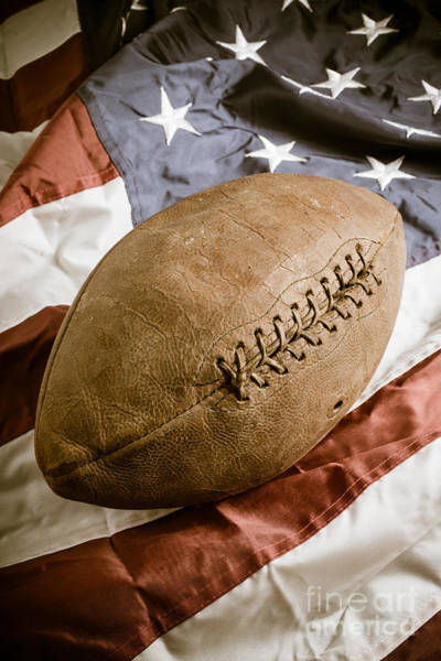 Photograph - American Football by Edward Fielding