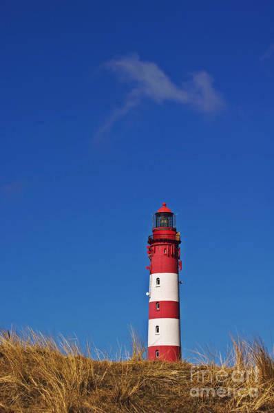 Photograph - Amrum Lighthouse by Angela Doelling AD DESIGN Photo and PhotoArt