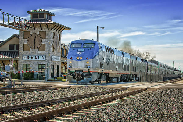 Photograph - Amtrak 112 by Jim Thompson