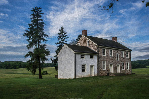 Filter Forge Photograph - An Old House by Jeff Oates Photography