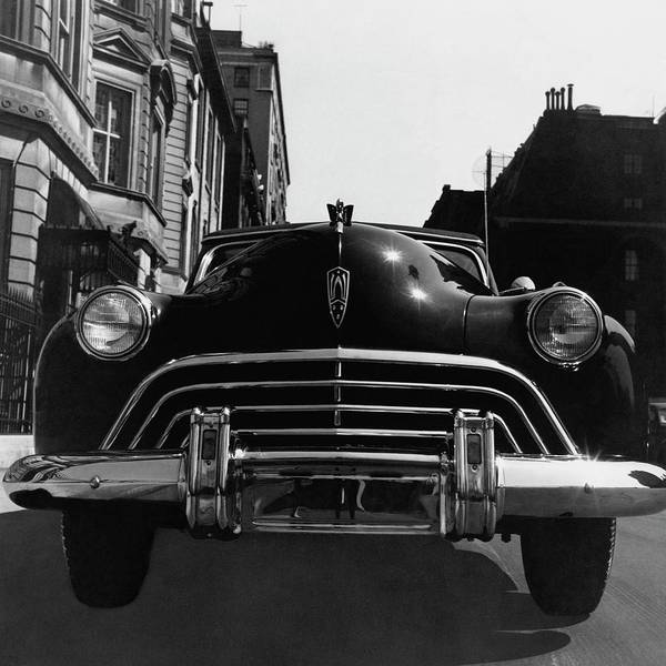 Urban Scene Photograph - An Oldsmobile Car by Constantin Joffe