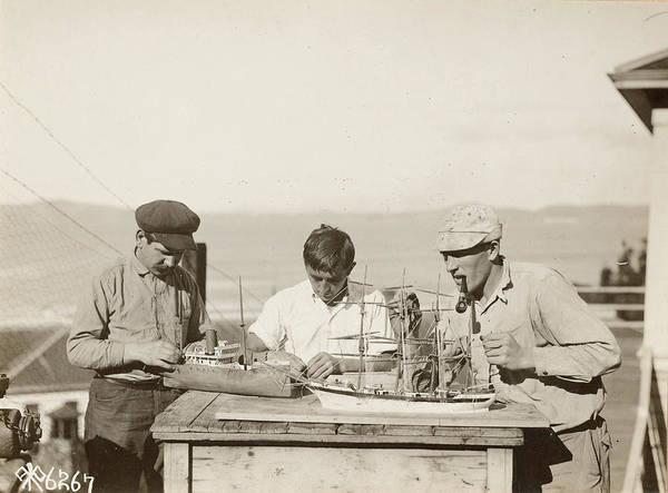 Wall Art - Photograph - Angel Island, 1918 by Granger
