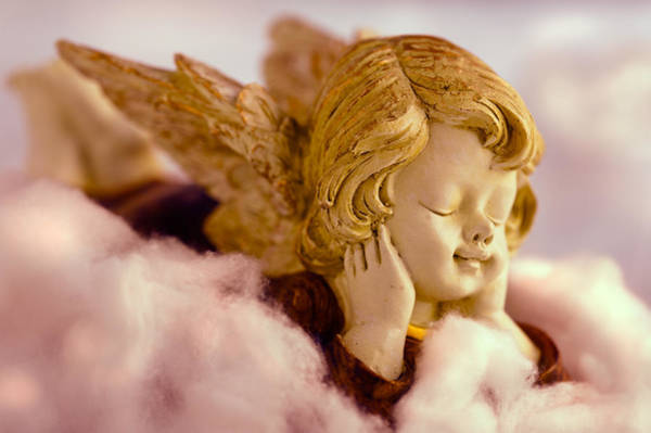Photograph - Angel Resting On Clouds And Enjoying The Sun by U Schade