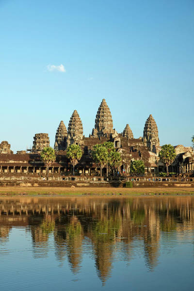 Reap Photograph - Angkor Wat Temple Complex (12th Century by David Wall