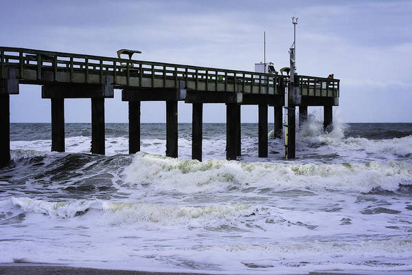 Photograph - Angry Atlantic by Judy Hall-Folde