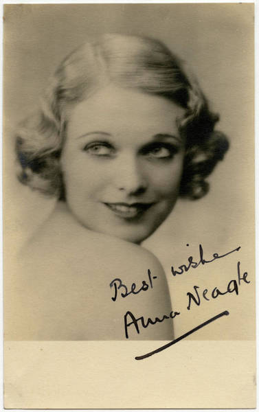 Wall Art - Photograph - Anna Neagle (1904  1986), English Film by Mary Evans Picture Library